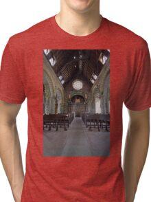 St Conans Kirk (nterior) Tri-blend T-Shirt