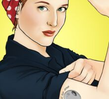 Scully the riveter Sticker