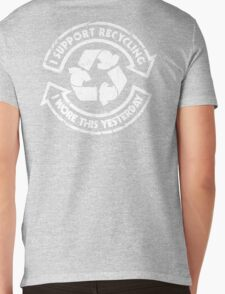 I support recycling Mens V-Neck T-Shirt
