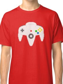 Nintendo 64 controller in pixelart Classic T-Shirt