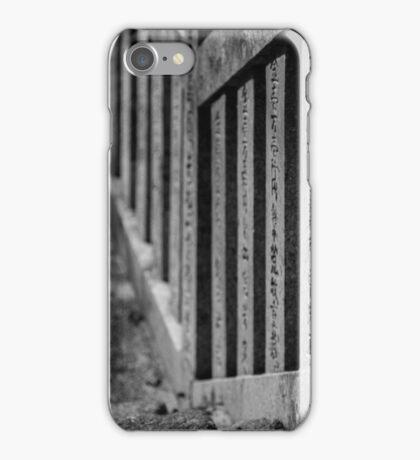 Shrine Steps iPhone Case/Skin