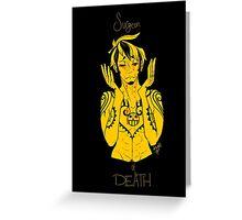 Surgeon of Death Greeting Card
