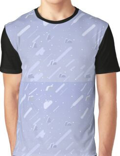 Periwinkle Universe Sky Graphic T-Shirt