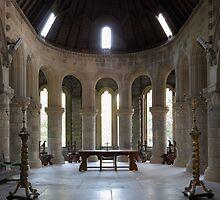 St Conans Kirk High Altar by Maria Gaellman