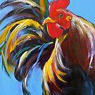 Kauai Rooster by Lora Garcelon