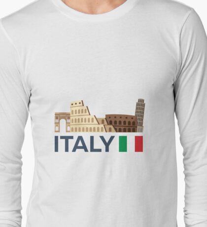Italy, Rome skyline Long Sleeve T-Shirt