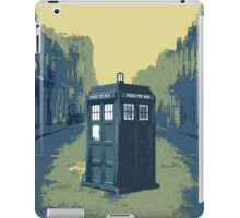 Tardis in the old town iPad Case/Skin