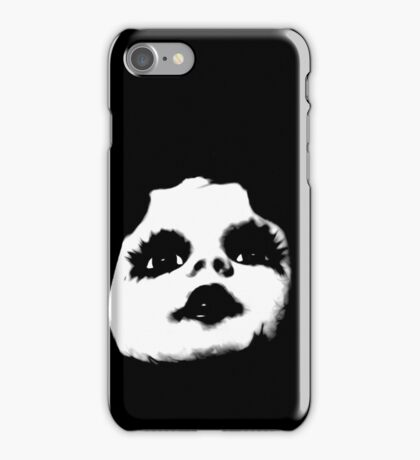 Cool Creepy Doll Face iPhone Case/Skin