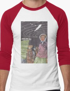 Brain Waves Men's Baseball ¾ T-Shirt