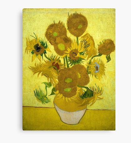 Vincent Van Gogh - Sunflowers 1889 Canvas Print