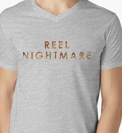 Reel Nightmare V-neck Tee Mens V-Neck T-Shirt