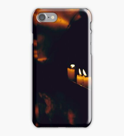 Temple Candles iPhone Case/Skin