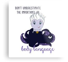 The Importance of Body Language Metal Print