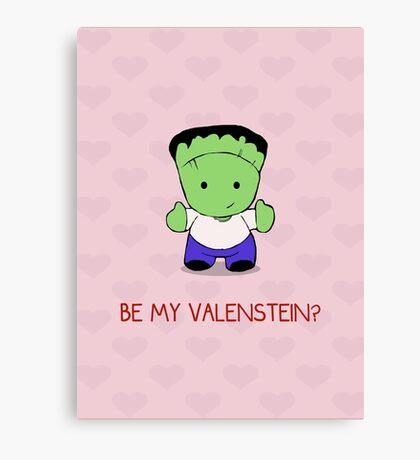 Be My Valenstein? Canvas Print
