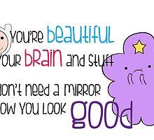 Your Beautiful Brain by Jen  Talley