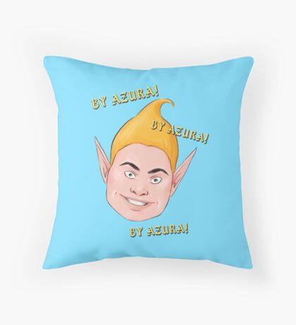 By Azura! - The Adoring Fan Throw Pillow