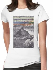 Floating Home Womens Fitted T-Shirt