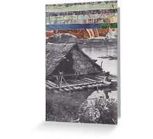 Floating Home Greeting Card