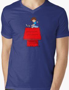 writer Mens V-Neck T-Shirt