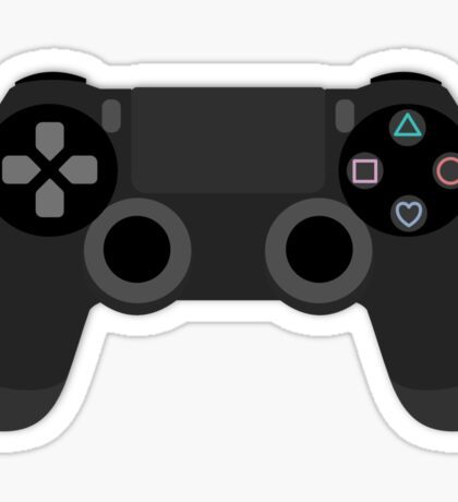 Playstation Controller with Love Sticker