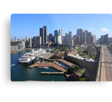Cruiser Ship in Sydney Metal Print