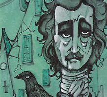 Mr Edgar Allan Poe by Paolavk