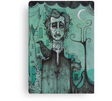 Mr Edgar Allan Poe Canvas Print