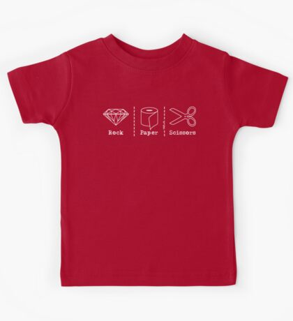 Rock Paper Scissors  Kids Tee