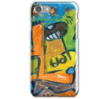 Naive Emotion Figure Doodle iPhone Case/Skin