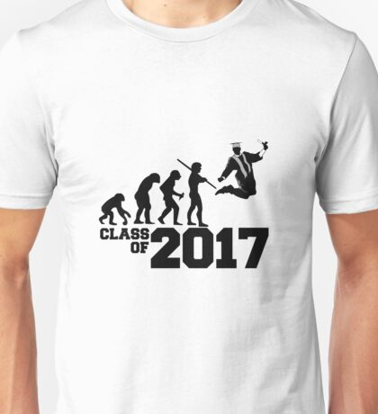 Class of 2017 Evolution Unisex T-Shirt