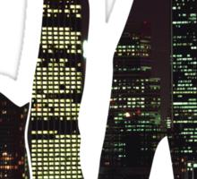 La City Skyline Sticker