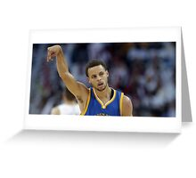 Stephen Curry my ass Greeting Card