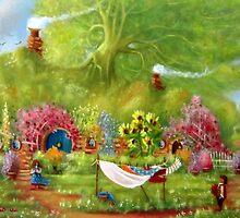 Washing Day Hobbiton/Roses For Rosie. by Joe Gilronan