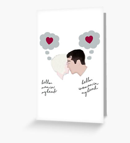 Riley and Will #02 Greeting Card