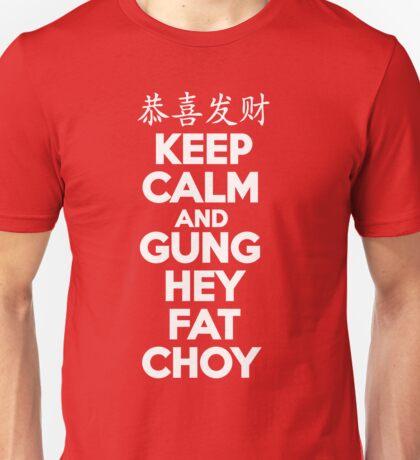 KEEP CALM CHINESE NEW YEAR Unisex T-Shirt