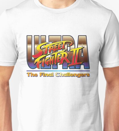 Ultra Street Fighter 2 The Final Challengers Unisex T-Shirt