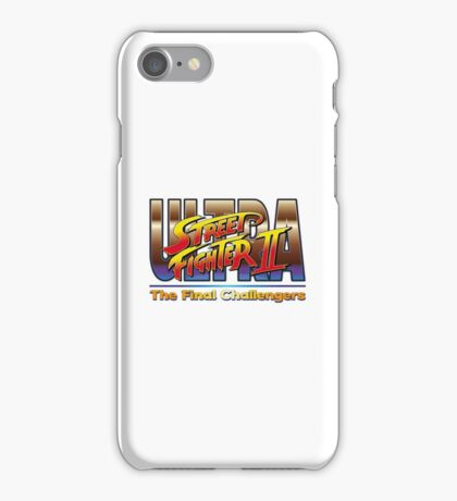 Ultra Street Fighter 2 The Final Challengers iPhone Case/Skin