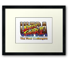 Ultra Street Fighter 2 The Final Challengers Framed Print