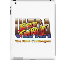 Ultra Street Fighter 2 The Final Challengers iPad Case/Skin