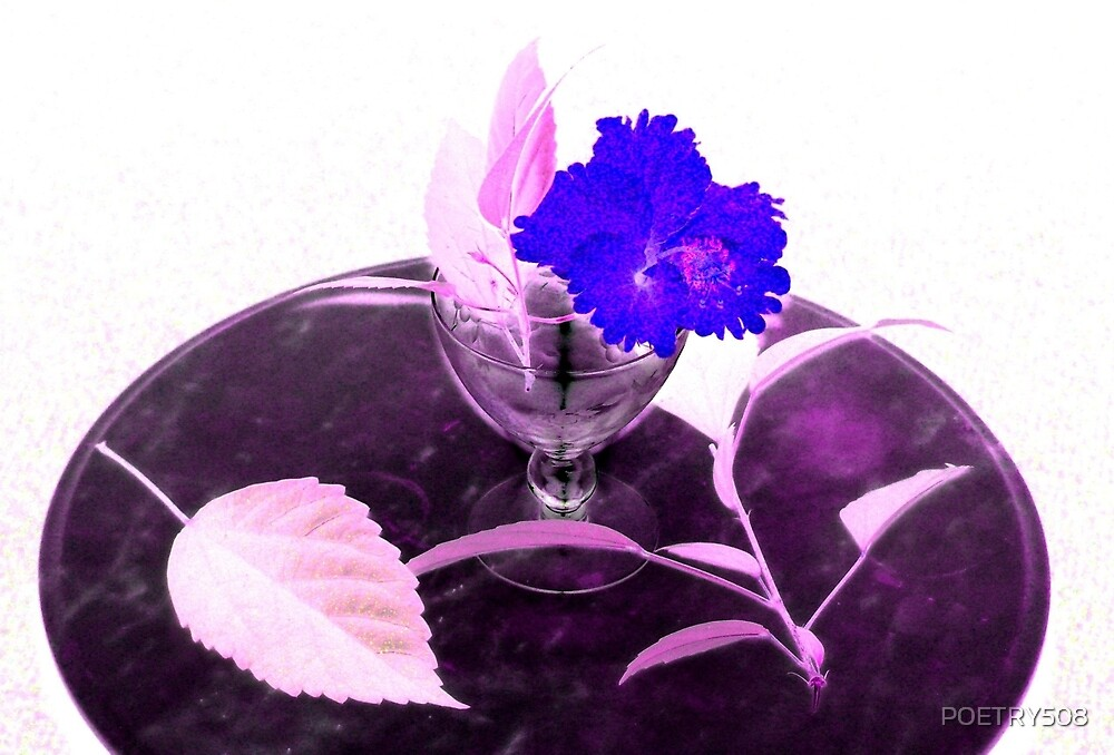 Flower & Goblet by POETRY508