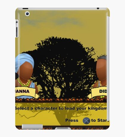 Gamer X Africa iPad Case/Skin