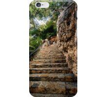 Home from the beach…. Cala Pi Majorca iPhone Case/Skin