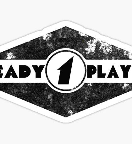 Ready Player One Retro Logo Sticker