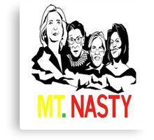 mt nasty Canvas Print