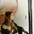 THE RED PARASOL by Jim Ferringer