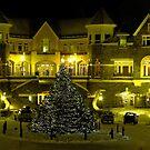 Banff Hot Springs Hotel by Nancy Richard