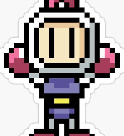 Bomberman - Pixel Art Sticker