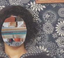 Mirrored on Wall Sticker