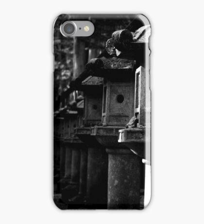 Japanese Stone Lanterns iPhone Case/Skin
