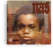 Nas Illmatic Album Cover HD Design Canvas Print